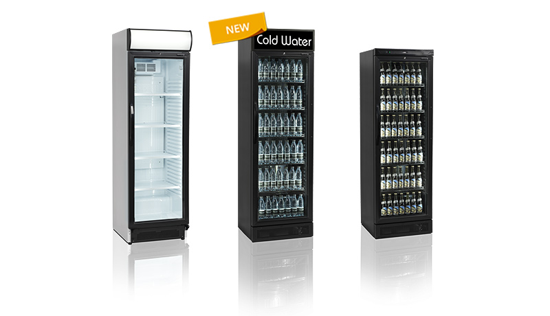 Pure black bottle cooler with canopy